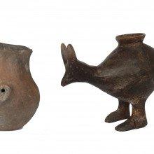 Prehistoric feeding vessels used as baby bottles