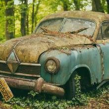 Rusted Car