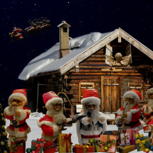 Christmas santa band