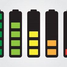 Battery full indicator