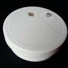 White smoke alarm