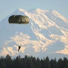 Mount Rainier in Washington.
