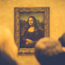 An image of the Mona Lisa