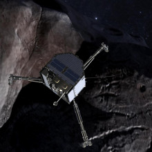 Philae lander - a part of the Rosetta spacecraft