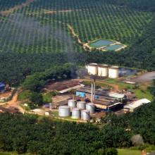 Palm oil mill, Sepang, Malaysia