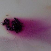 Evaporating pure iodine