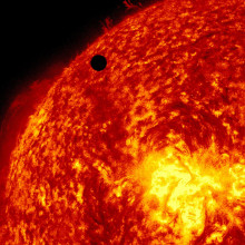Ultra-high Definition View of 2012 Venus Transit