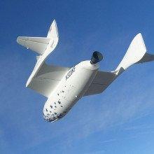 Spaceship One in Flight