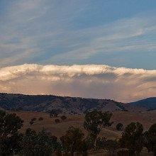 Anvil shaped cumulus cloud, February 2007