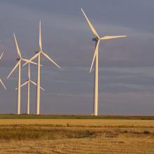 Wind farm near Caen