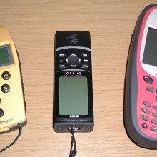 GPS receivers from Trimble, Garmin und Leica