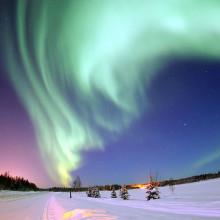 The Northern Lights (aurora borealis)