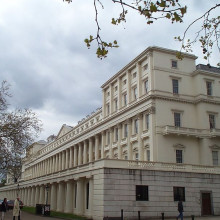 Carlton House Terrace - residents of which include the Royal College of Pathologists and the Royal Society