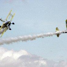 Aerobatic display