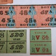 Dutch ration cards