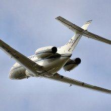 Hawker jet aeroplane