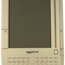 The Kindle - Amazons e-Book reader