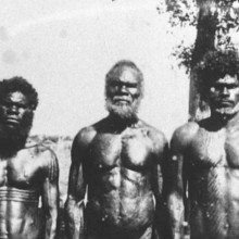 Personal photographs of the Hon. C L A Abbott during his term as Administrator of the Northern Territory - Aborigine Chief of Bathurst Island. Date: 1939