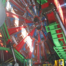 Construction of one detector (called CMS ) of the LHC at CERN