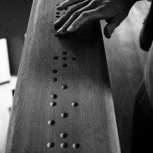 Braille reading 'premier'