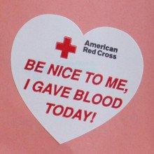 Red Cross Sticker