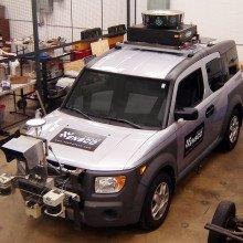 A DARPA urban challenge vehicle