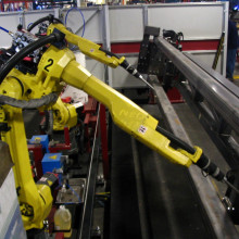 FANUC 6-axis welding robot