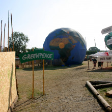 The Greenpeace Field, Glastonbury