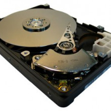 A Hard Disk with the top removed