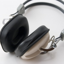 White headphones from the 1970's, model C525