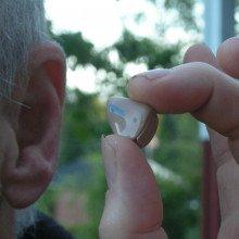 In-ear hearing aid