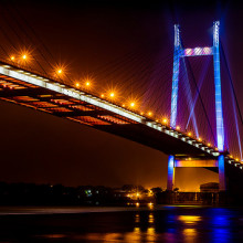 Hoogley Bridge, Kolkata