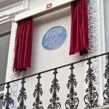 William Ramsay's Blue Plaque