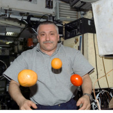 Cosmonaut Fyodor Yurchikhin, Expedition 15 commander.