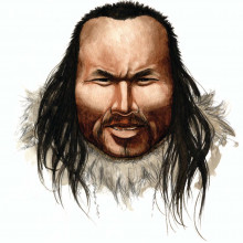 Artists Impression of 'Inuk'
