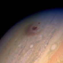 Comet Shoemaker Levy 9 collided with Jupiter in 1993