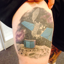 Matt's Rosetta Tattoo