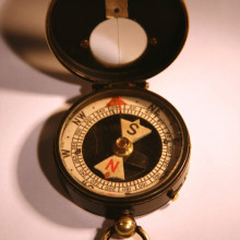 1st World War compass. The original owner was 2nd Lieutenant James A Lindsay Brough who was killed on 1st July 1916, the first day of the Battle of the Somme. The Battalion had only just sailed from Southampton to Le Havre in January 1916. James...