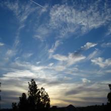 Clouds over Santa Clarita