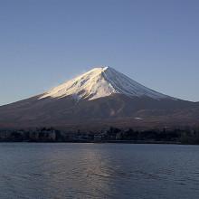 Mt Fuji Stratovolcano