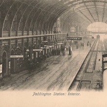 Paddington Station in Victorian Times