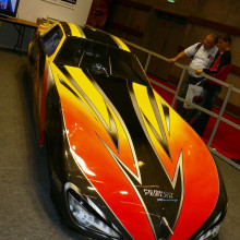 Dragster at the 2006 Paris Motor Show