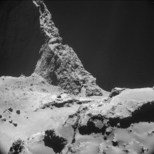 Comet 67P-Churyumov-Gerasimenko - image from the European Space Agency - ESA