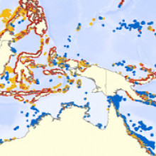 Reefs at Risk Revisited map thumb