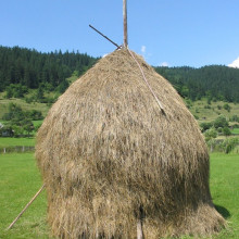 A Haystack in Romania.
