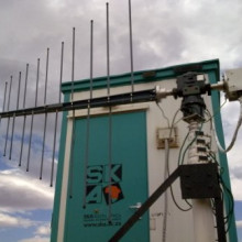 Wideband radio scanner system. It was originally used to survey the radio frequency noise levels at the SKA candidate sites.