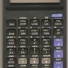 solar-powered calculator - ti-36x