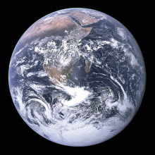 Blue marble. Earth from space