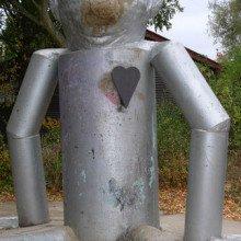 A tin man