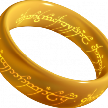 The One Ring... Frodo's secret means of gaining invisibility